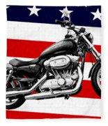 American Made Fleece Blanket