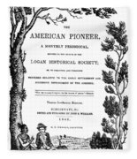 American Pioneer, 1842 Fleece Blanket