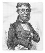 American Schoolmaster Fleece Blanket