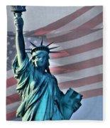 American Welcome Fleece Blanket
