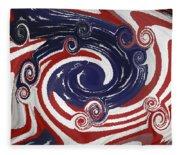 Americas Palette Fleece Blanket