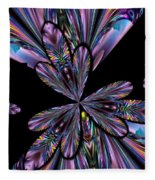 Amethyst Affair Fleece Blanket