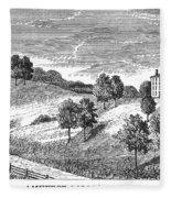 Amherst College, 1821 Fleece Blanket