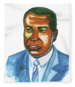 Amilcar Cabral Lopes Fleece Blanket