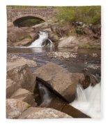 Amity Creek Scene 8 Fleece Blanket