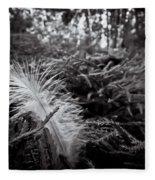 Among Thorns Fleece Blanket