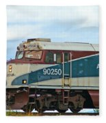 Amtrack Engine Fleece Blanket