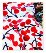 An Autumn Picnic Fleece Blanket