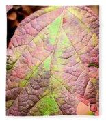 An Autumn's Leaf Fleece Blanket