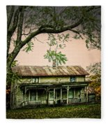 An Old Home Place Fleece Blanket