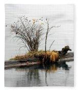 An Outpost Fleece Blanket