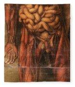 Anatomie Generale Des Visceres Fleece Blanket
