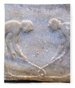 Ancient Hockey Fleece Blanket