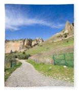 Andalucia Countryside In Spain Fleece Blanket