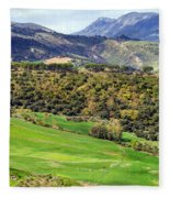 Andalusia Landscape Fleece Blanket