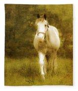 Andre On The Farm Fleece Blanket