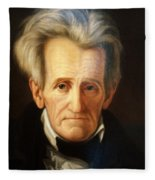 Andrew Jackson, 7th American President Fleece Blanket