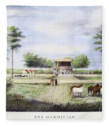 Andrew Jackson: Hermitage Fleece Blanket