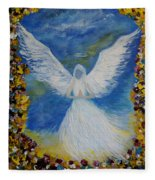 Angel Among Us Fleece Blanket