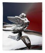 Angel Hood Ornament Fleece Blanket