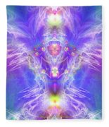 Angel Of Ascension Fleece Blanket