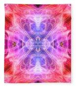 Angel Of Compassion Fleece Blanket