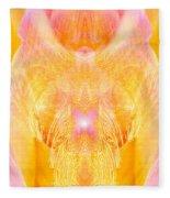 Angel Of Divine Protection Fleece Blanket