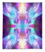 Angel Of Enlightenment Fleece Blanket