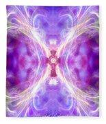 Angel Of Redemption Fleece Blanket