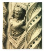 Angel Of The Basilica Fleece Blanket