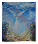Angel Whisperings Fleece Blanket