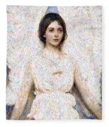 Angels In Our Midst Fleece Blanket