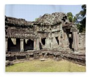 Angkor Archaeological Park Fleece Blanket