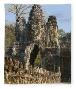 Angkor Archaeological Park II Fleece Blanket