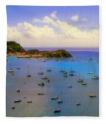 Anguilla's Softness Fleece Blanket