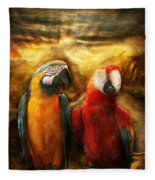 Animal - Parrot - Parrot-dise Fleece Blanket