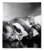 Animal Research Fleece Blanket