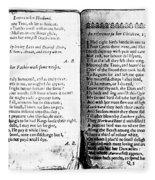 Anne Bradstreet Poems Fleece Blanket