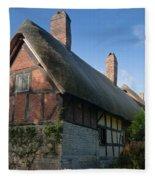 Anne Hathaway's Cottage Fleece Blanket