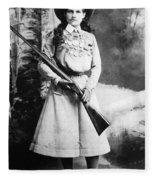 Annie Oakley (1860-1926) Fleece Blanket