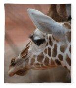 Another Giraffe Fleece Blanket