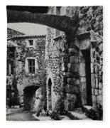 Another Residence In Childhood Alba France Ardeche Fleece Blanket