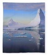 Antarctic Evening Fleece Blanket