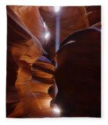 Antelope Canyon 2 Fleece Blanket