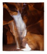 Antelope Canyon Light Fleece Blanket
