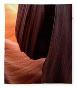 Antelope Canyon Living Rock Fleece Blanket