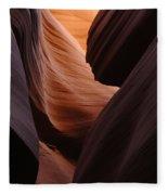 Antelope Canyon Natural Beauty Fleece Blanket