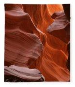 Antelope Canyon, Page, Arizona Fleece Blanket