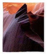 Antelope Canyon Story Of The Rock Fleece Blanket