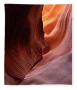 Antelope Canyon Written In Stone Fleece Blanket